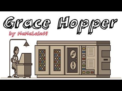 Grace Hopper computer scientist Google Doodle
