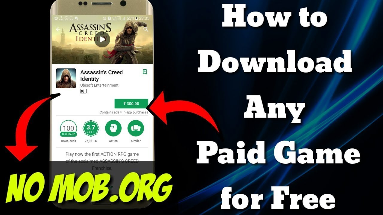 how to get paid games for free on android