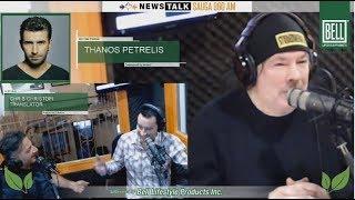 RAW MIKE RICHARDS  Talking to Greek Music Superstar Thanos Petrelis!