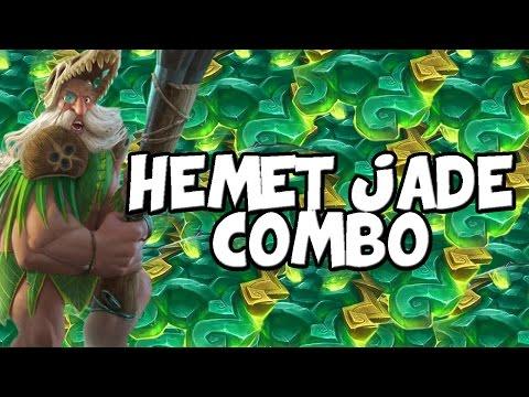 Hemet Jade Idol Combo