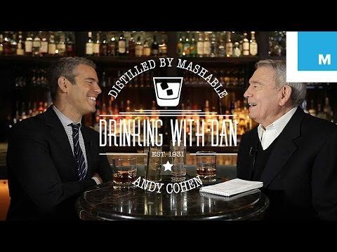 Dan Rather Interviews Andy Cohen: Drinking with Dan | Mashable