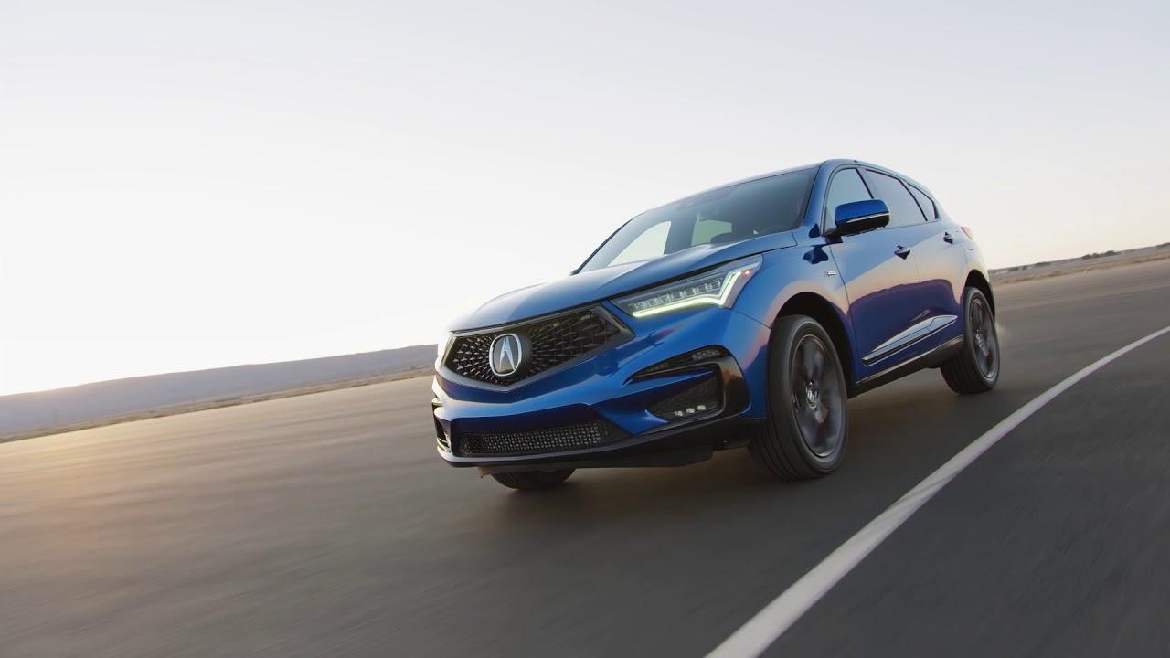 2019 Acura Rdx Led Headlights Tail Lights Youtube