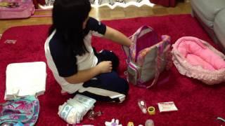 como preparar tu bolsa para tu baby alive