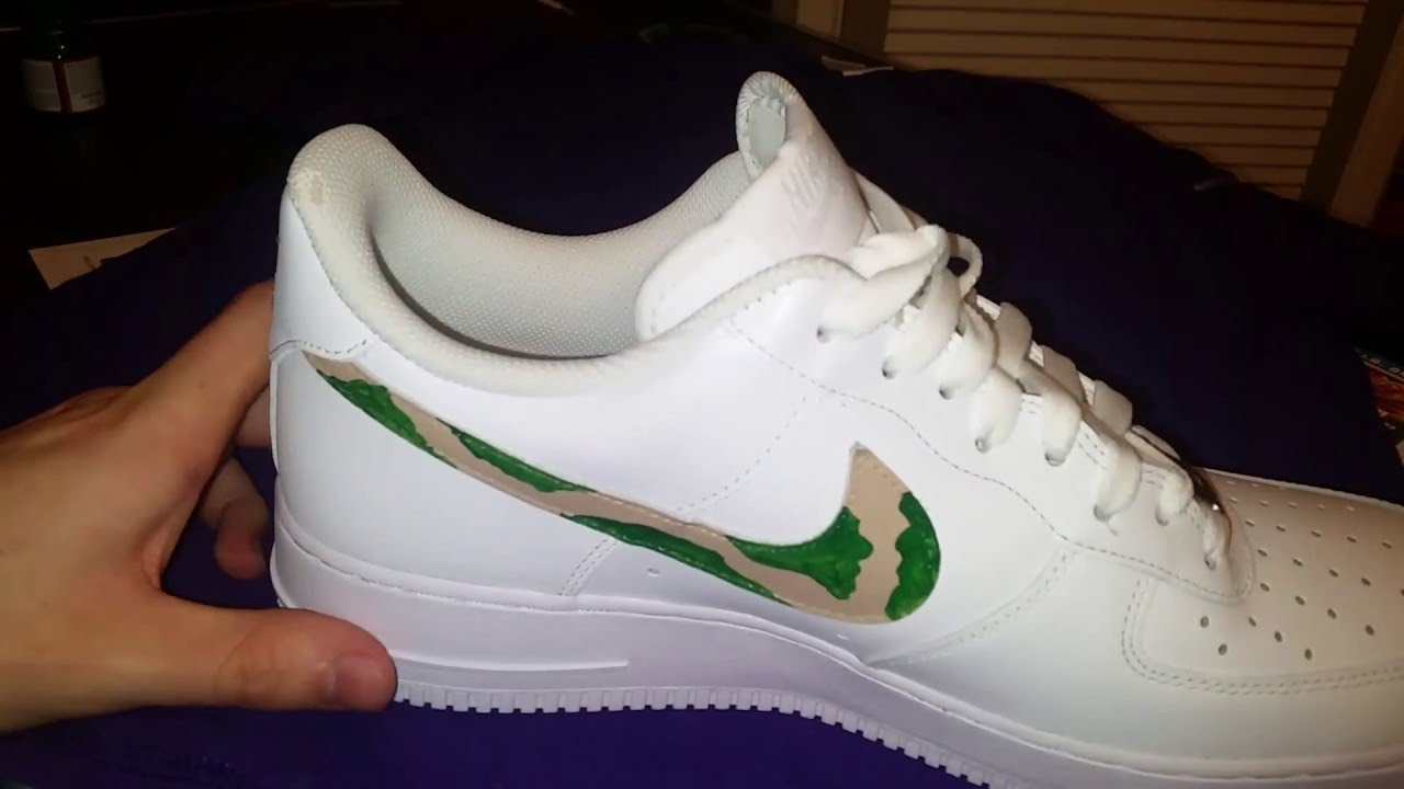 brand new 12d89 be2d2 Custom Nike Air Force 1