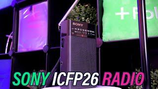 A Handheld Radio To Go? Sony ICFP26 Portable AM/FM Radio Review