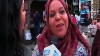 المتوحشة - مراسلة  المتوحشة سارة فؤاد تسأل : لو فية سفر لمراتك .. توافق انها تسافر؟