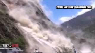 PRIMERAS IMÁGENES NUEVO TERREMOTO 7.3 GOLPEA NEPAL HOY 12 DE MAYO 2015