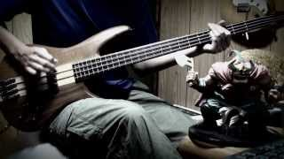 JUDY AND MARY-Blue Tears Bass cover practice. ジュディマリの曲、ベ...