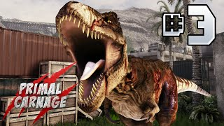Primal Carnage Extinction : Part 3 - T.Rex Killing Spree!
