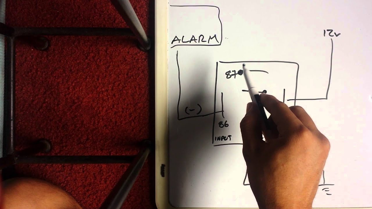 medium resolution of how to convert negative to positive with 5 wire relay spdt
