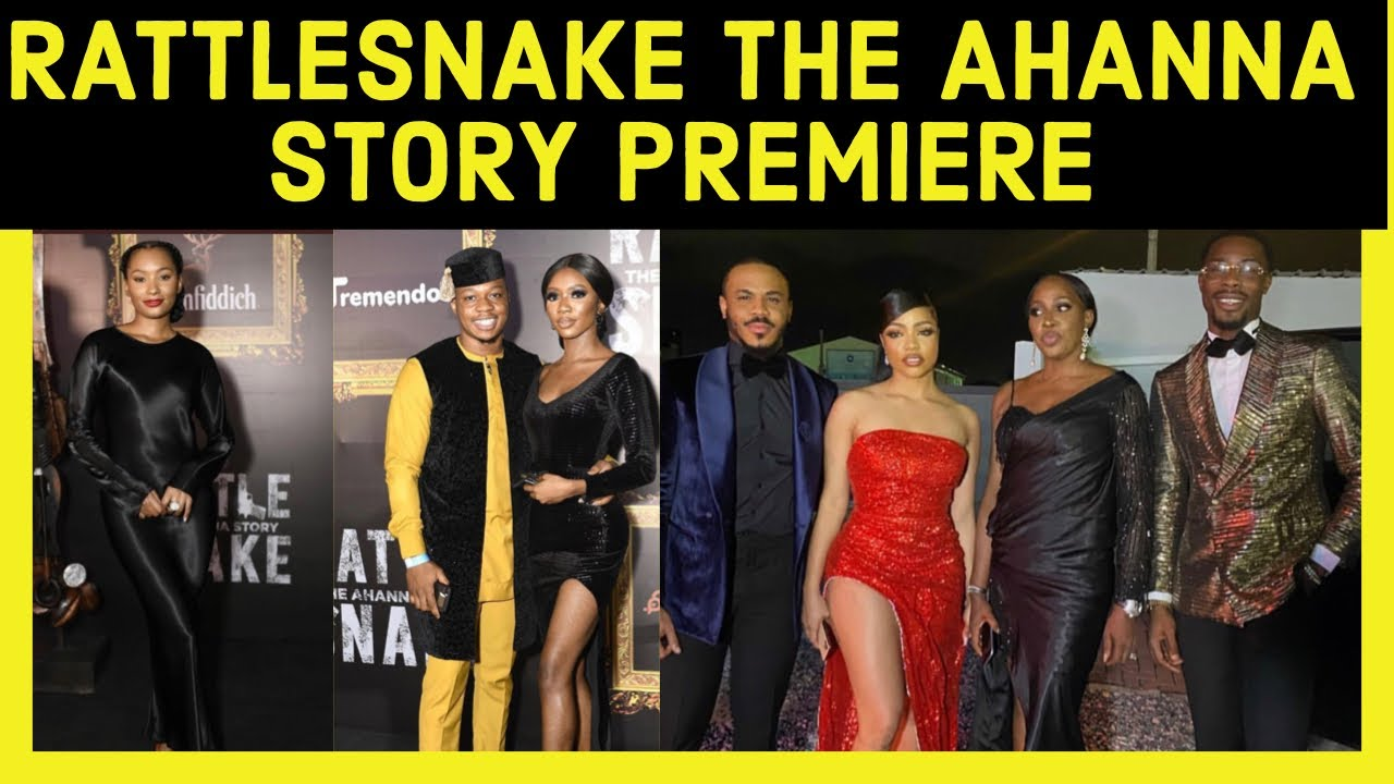 Download OZO, NENGI,IYKERESA SPOTTED AT THE RATTLESNAKE AHANNA STORY MOVIE PREMIERE#iykeresa#rattlesnakemovie