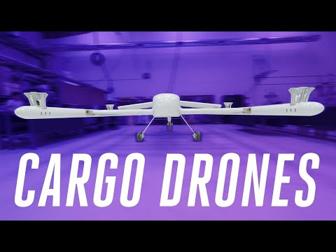 Giant cargo drones will deliver packages farther and faster