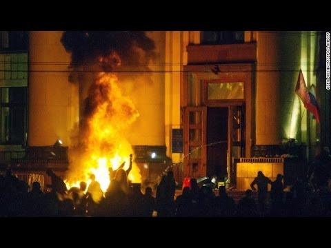 Dozens killed in building fire in Ukraine's Odessa after clashes | Ukraine Crisis