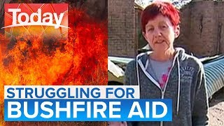 Red tape preventing some bushfire victims accessing aid   Today Show Australia