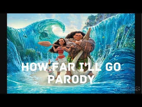Parody of How Far I'll Go from Moana(about cookies) || with sped up chipmunk voice🎤🐹
