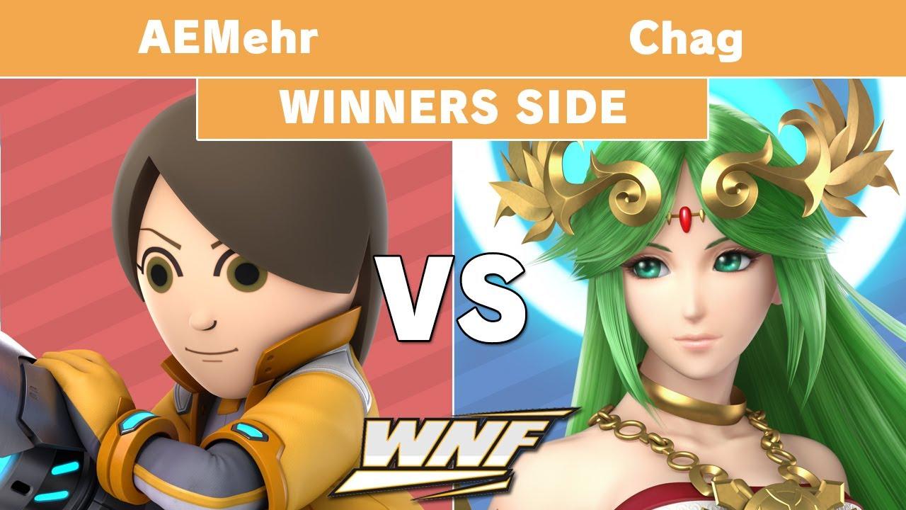 Mii Brawler vs. Palutena (Super Smash Bros. Ultimate