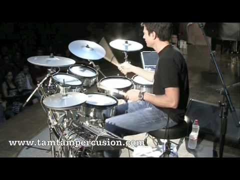 Johnny Rabb Drum Solo Part I en Tam Tam Percusion