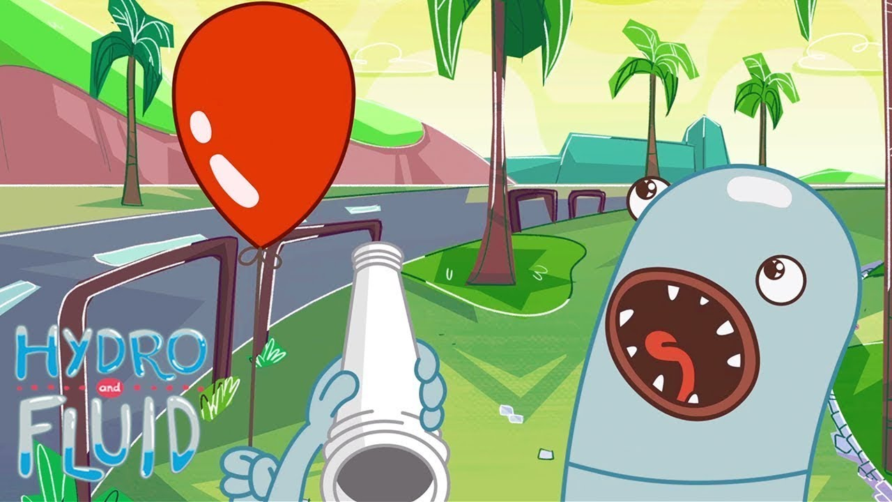 Balloon Tricks   HYDRO and FLUID   Cartoons for Kids   WildBrain Kids TV Full Episodes