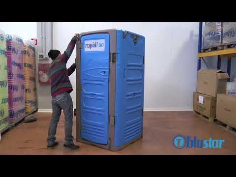 1 Person Assemble RapidLoo Rivet-Less Portable Toilet