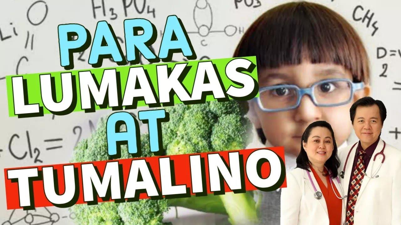 Para Tumalino at Lumakas: Subukan Ito - Payo ni Doc Liza Ramoso-Ong #93c