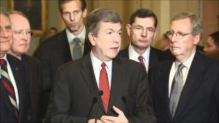 Senate Republican Leadership Stakeout 12/13/2012