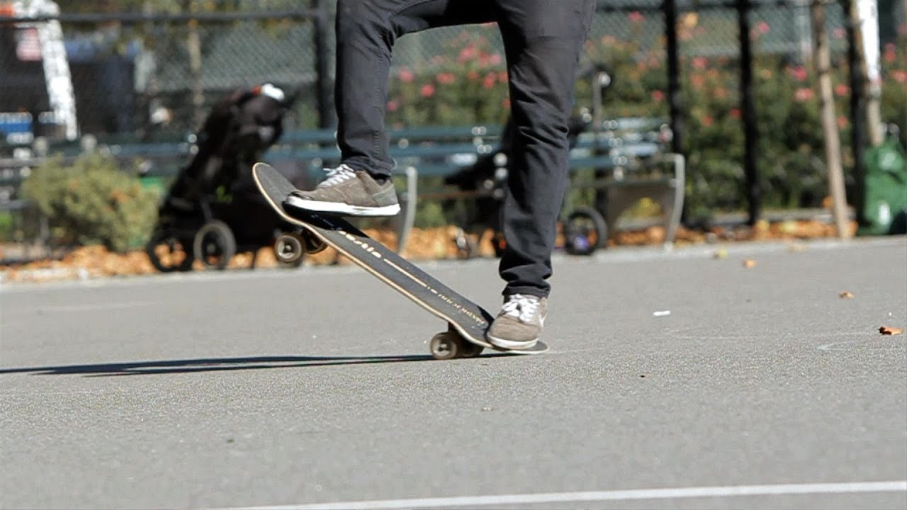 how to keep going on a skateboard