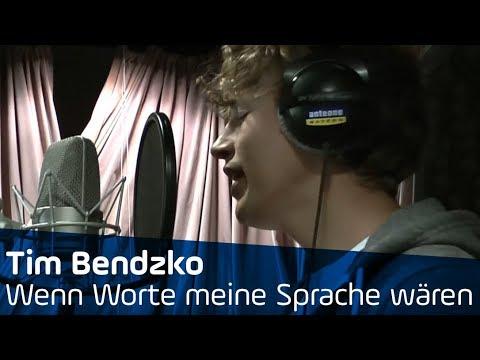 Tim Bendzko - Wenn Worte meine Sprache wären Unplugged @ ANTENNE BAYERN