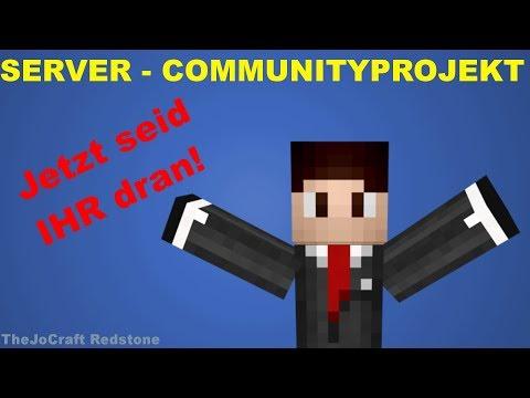 ONLINE COMMUNITY PROJEKT: Ihr baut auf einem SERVER für MineKart