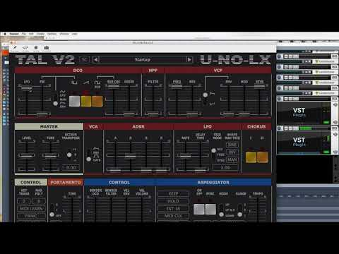 Stranger Things - retro sound design (TAL-U-NO-LX vst)