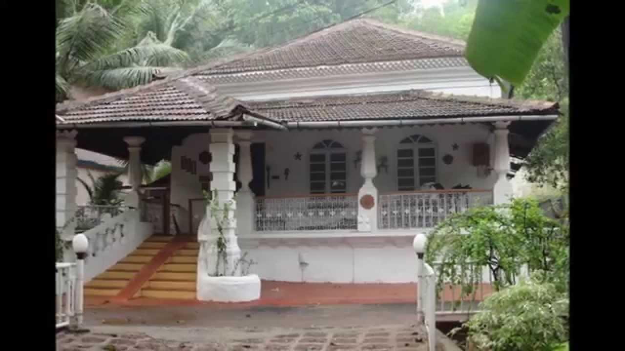 Portuguese Villa For Sale At Moira North Goa India Youtube