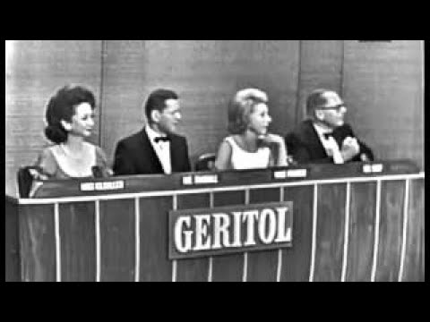 What's My Line? - Marty Allen & Steve Rossi; Tony Randall [panel] (Sep 6, 1964)