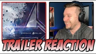 Marvel Studio's Avengers: Endgame Trailer Reaction   (Avengers 4)