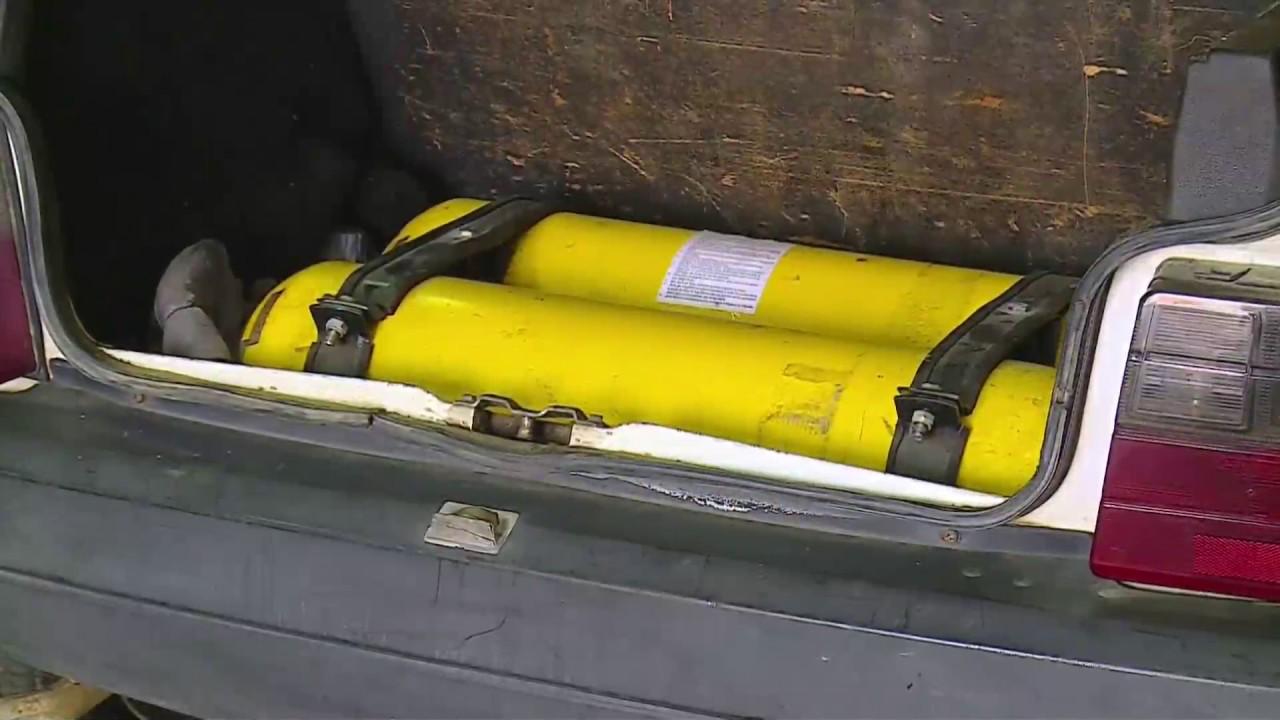Fica ligado cuidados ao instalar o cilindro de gnv nos for Valor cilindro de gas