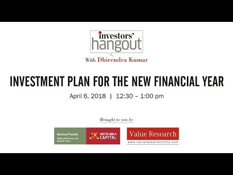 Episode 63: Investment plan for the new financial year