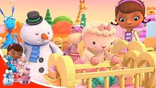 Доктор Плюшева Малыши Плохой день Лэмми серия 44 Disney Мультфильм дисней про игрушки