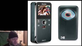 New Kodak Pocket hd camcorders Playfull and Playsport zx5