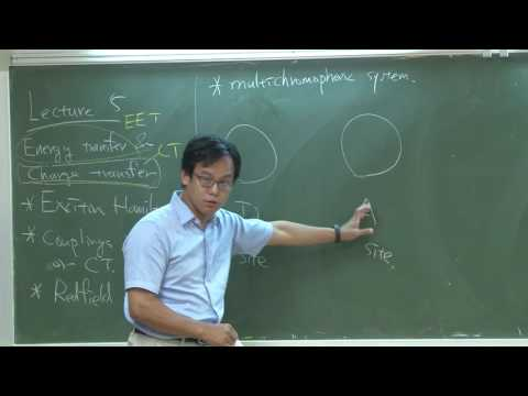 Lecture 5: Redfield theory for excitation energy transfer & electron transfer