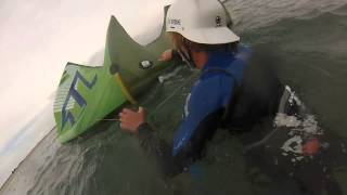How to self rescue with a kite by One Launch Kiteboarding