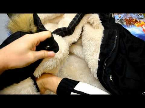видео: Посылки из Китая №132 мужская зимняя куртка