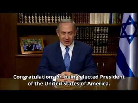 Prime Minister of Israel Benjamin Netanyahu to President Donald J. Trump