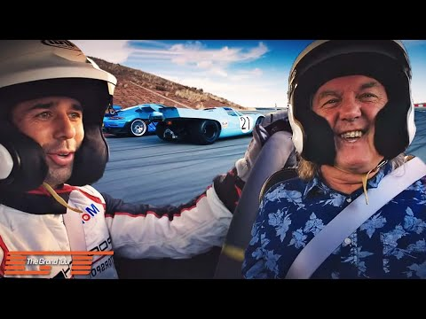 The Grand Tour: Porsche 917 vs Porsche 911 GT2RS Race
