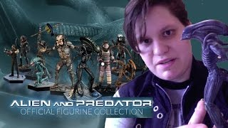 Eaglemoss Alien and Predator Figurine Collection Unboxing and Review