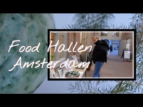 Foodhallen in Amsterdam bezoeken! #vlog