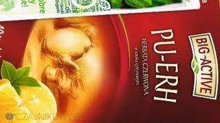 Herbata Big-Active (Bio-Active) Czarna Yunnan z Pigwą, Oxalis Czarna Marmelo recenzja, opinie