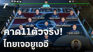 ทีมไทย ปรับแผน ไม่ประกาศ 23 ผู้เล่น   07-06-64   เรื่องรอบขอบสนาม