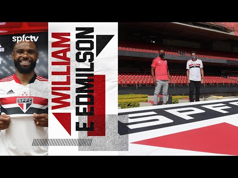 WILLIAM E EDMILSON NO MORUMBI | SPFCTV