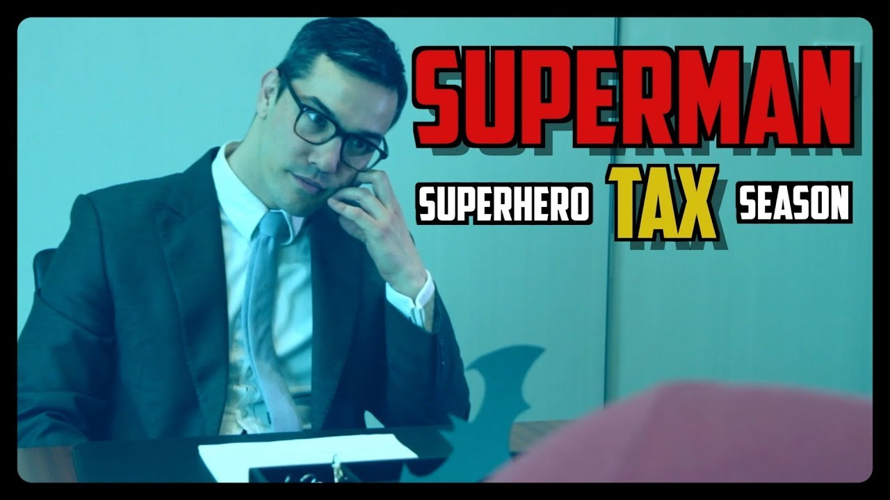 Sketch From Superheroes: Superhero Tax Season