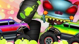 Smokey | Haunted house Monster Truck | HHMT | Good Vs Evil