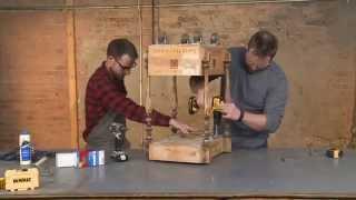 Build A Bar Cart Using Salvaged Materials