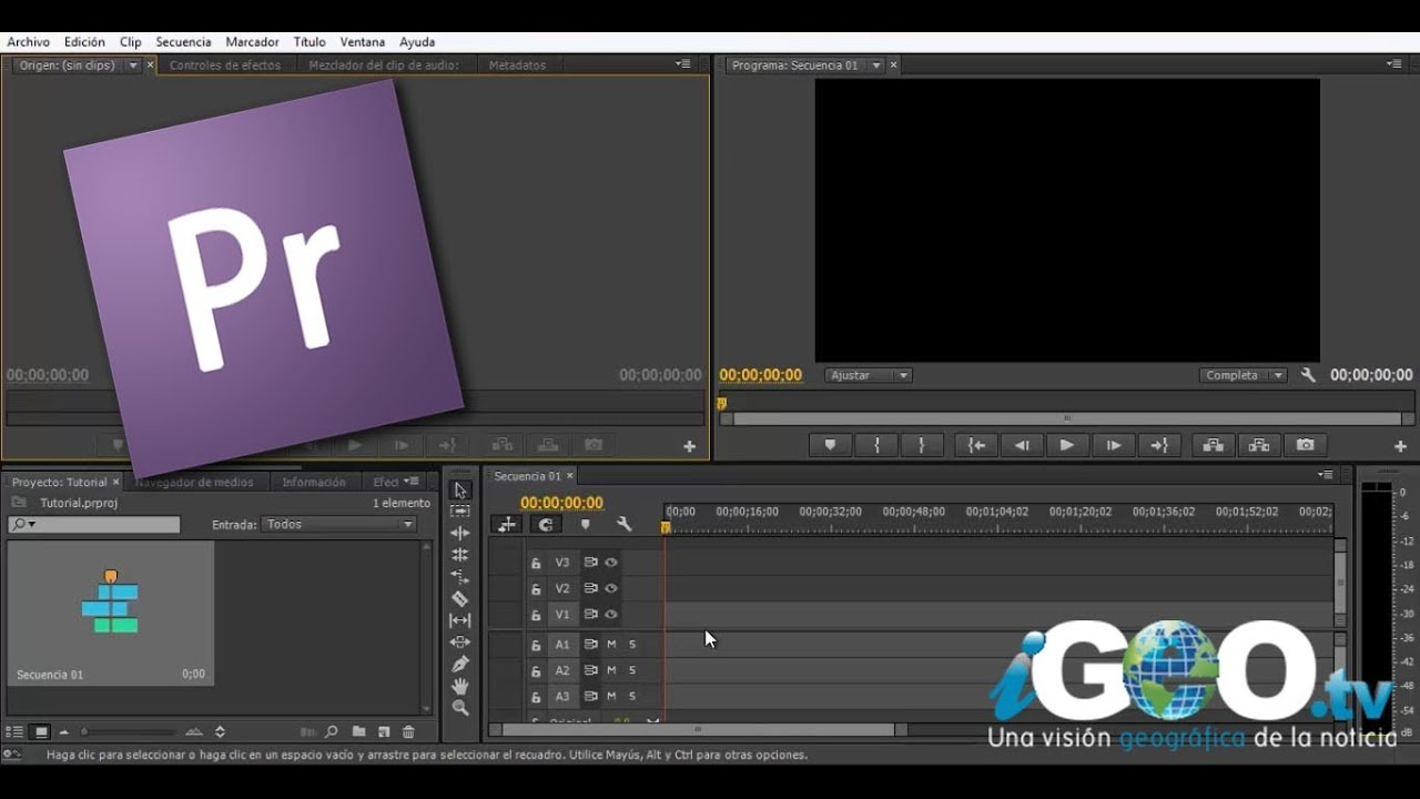 Adobe Premiere Tutorial para Principiantes, Parte I ...